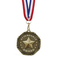 COMBO Attendance Medal with 10mm R/-AM1056.12